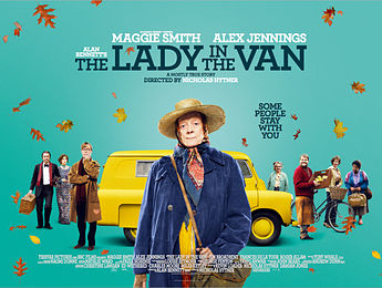The Lady in the Van film poster opt